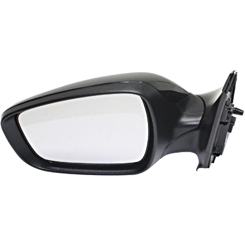 Fits 12-17 Accent Left Driver Mirror Power Non-Painted Heated, No Signal, No Blind Spot