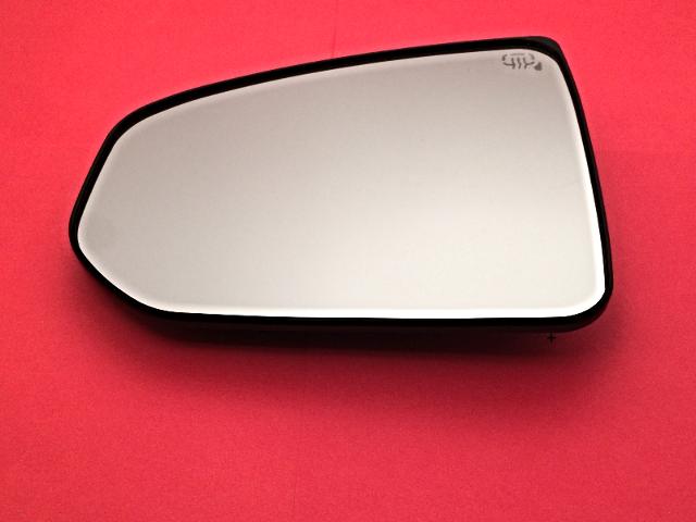 Fits 09-17 Nissan 370Z Left Driver Mirror Glass w/ Rear Holder OE