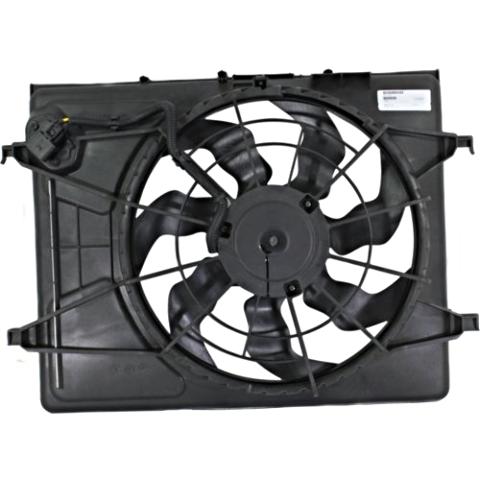 Cooling Fan Assm Fits 07-10 Elantra Sedan 09-12 Elantra Wagon