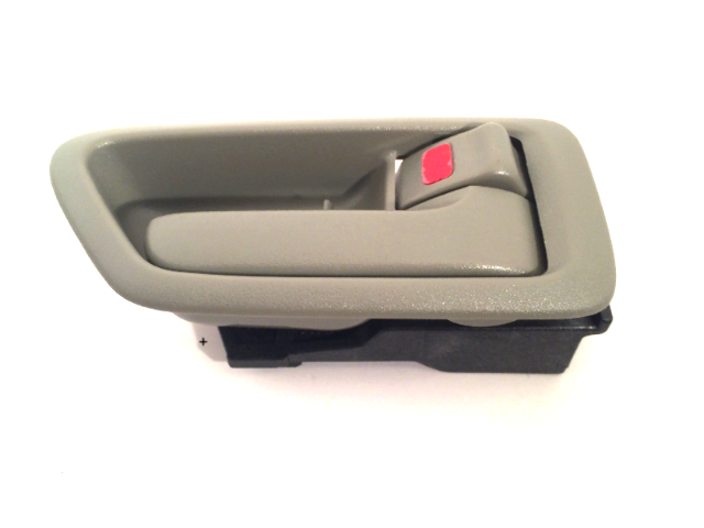 Fits 97-01 Camry Right Pass Side Front / Rear Interior Door Handle w/ Bezel Sage