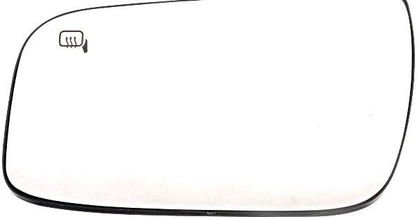 Fits 08-09 Ford Taurus Left Driver Heated Mirror Glass  w/ Rear Back Plate