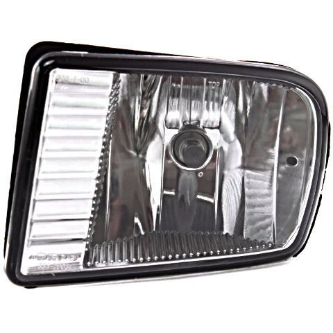 Fits 00-02 Lincoln LS Left Driver Fog Lamp - Rectangular Design