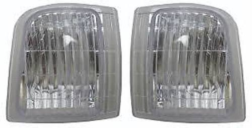 Fits 95-05 Chevy Astro & GMC Safari Left & Right Corner Lamps (Set)