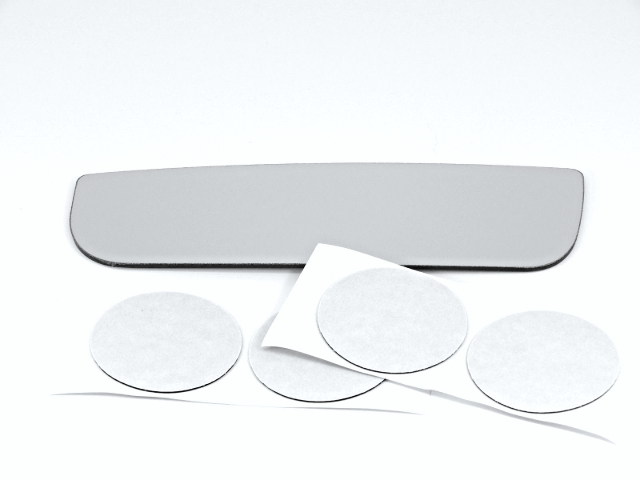 Fits 08-18 Express Savana Van Left Lower Mirror Glass Lens for Dual Mirror Type