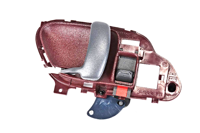 Left Inside Door Handle Red, Front or Rear Fits Chevy GM Trucks, SUV