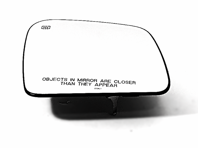 12-17 Jeep Grand Cherokee Right Pass Heated Mirror Glass w/Rear Back Plate OE