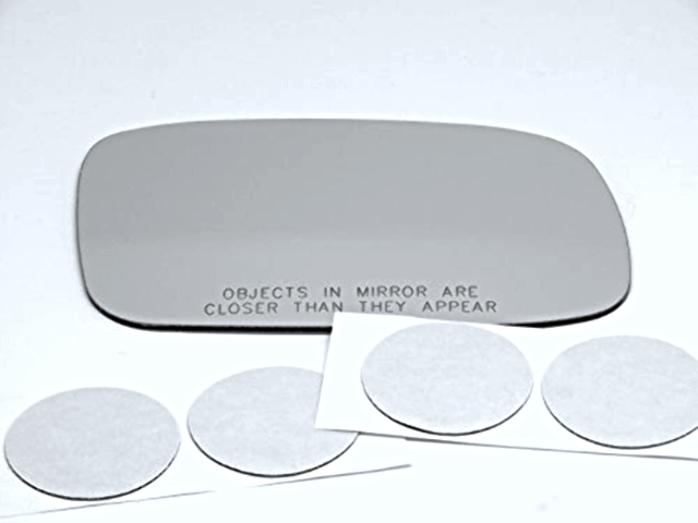 Fits 97-01 Lexus ES300 Right Pass Convex Mirror Glass Lens w/ Adhesive