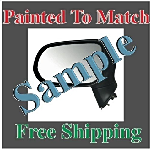 Paint To Match Power Mirror Fits 07-12 Nissan Sentra Right Passengr Without Heat