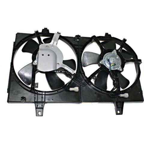 Fits 00-01 Maxima 00-01 Infiniti I30 Dual Cooling Fan Assembly