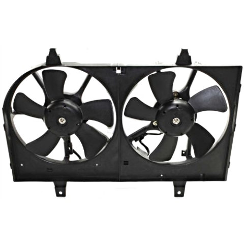 Fits 02-03 Maxima 02-04 Infiniti I35 Dual Cooling Fan Assembly