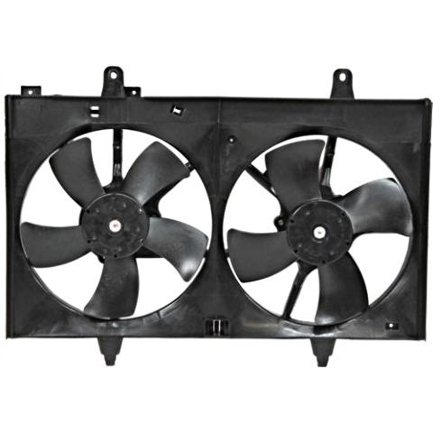 Fits 03-07 Murano Dual Cooling Fan Assambly