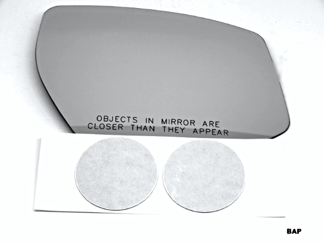 Fits 15-18 Nissan Maxima Right Pass Convex Mirror Glass Lens w/Adhesive