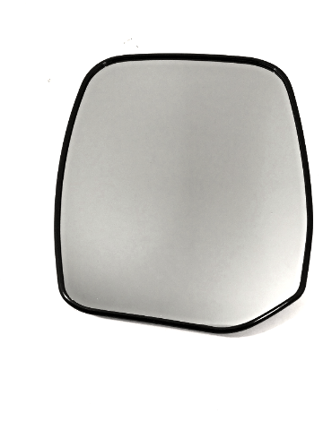 Fits 13 Inf QX56 14-17 Inf QX80 Left Driver Mirror Glass  w/Rear Holder non Auto Dimming