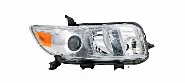 Fits 08-10 Scion XB Right Passenger Headlight Assembly
