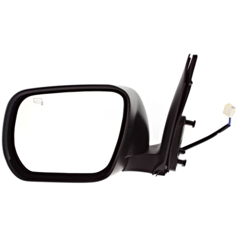 Fits 06-13 Grand Vitara Left Driver Mirror Power Unpainted With Heat No Signal