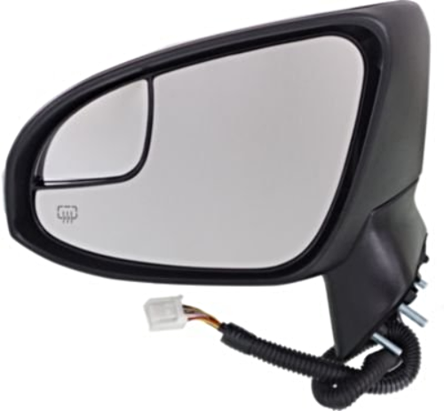 Fits 13-16 Venza Left Power Mirror With Heat, Signal, Puddle Lamp Manual Folding