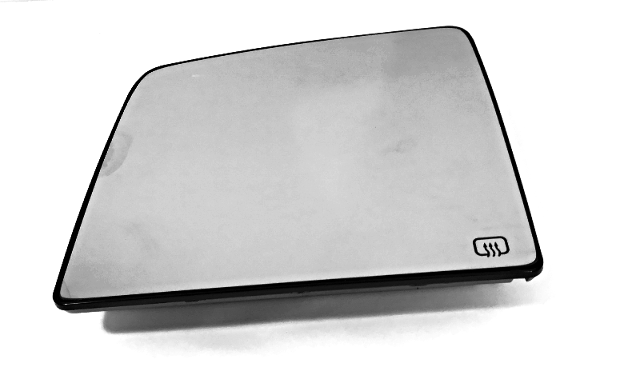 Fits 07-18 Tundra Left Driver Upper Mirror Glass of 2 pc Tow Mirror Heated w/ Rear Holder