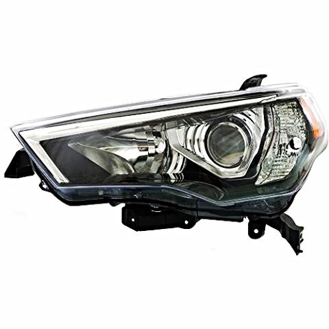 Left Driver Side Halogen Headlight Assembly for 14-17 Toy 4Runner