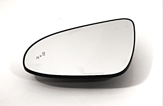 Fits 13-17 Camry Left Driver Mirror Glass w/ Blind Spot Detection w/Holder OE