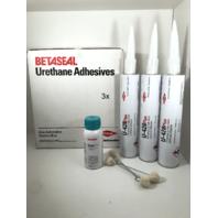 (3) Tubes Dow U428+ Primerless Glass Urethane Adhesive Sealant 10.5 oz  & Primer