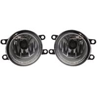 Fits 09-13 Corolla 09-14 Matrix 09-15 Venza 07-08 Solara Left/Right Fog Lamp Set