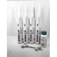 4x Dow Betaseal U418 Auto Glass Urethane / Sealant / Adhesive & 5504G Primer