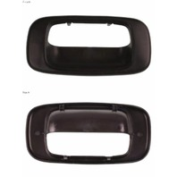 Fits  99-07 Silverado Sierra Tail Gate Handle Bezel Cover Textured Black