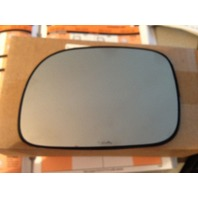 Fits 06-07 Caravan, Town & Country Left Driver Mirror Glass Heated w/Holder OE