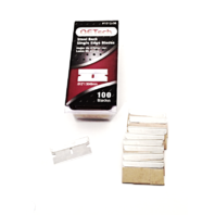Single Edge Razor Blades 100 Pack  .012 Heavy Duty Industrial Grade