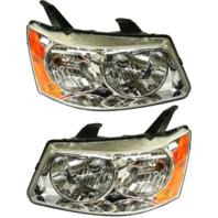 FIts 06-09 Pontiac Torrent Left & Right Headlamp Assemblies - pair