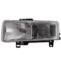 Fits 96-02 Chevy Express & GMC Savana Left Driver Composite Headlamp Assembly