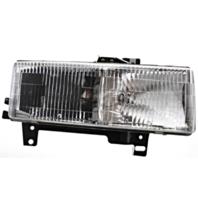 Fits 96-02 Chevy Express & GMC Savana Right Passenger Composite Headlamp Assem