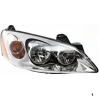 Fits 05-10 Pont. G6 Right Passenger Headlamp Assembly w/amber signal