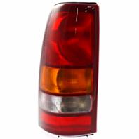 Fits 99-02 Chev Silverado Fleetside Pickup/99-03 GMC Sierra Fleetside Pickup Left Driver Tail Lamp Unit Assm Excludes 3500