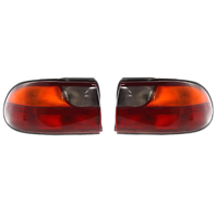 Fits 04-05 Chevrolet Malibu Classic Left & Right Set Tail Lamp Assemblies Quarter Mounted w/Circuit Board