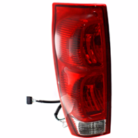 Fits 02-06 Chevrolet Avalanche Left Driver Tail Lamp Assembly