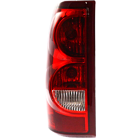 Fits 03 Chevrolet Silverado 1500 2500 Fleetside Left Driver Tail Lamp Assembly