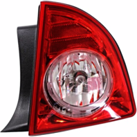 Fits 08-12 Chevrolet Malibu Right Passenger Tail Lamp Assembly w/Red-clear Lens