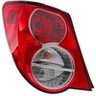 Fits 12-14 Chevrolet Sonic Sedan Left Driver Tail Lamp Assembly