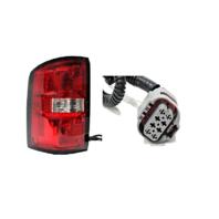 Fits 14-15 GMC Sierra 1500, Denali Right Passenger Tail Lamp Assembly