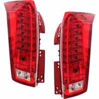 Fits 10-16 Cadillac SRX Left & Right Set Tail Lamp Assemblies