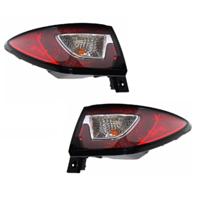 Fits 13-17 Chevrolet Traverse Left & Right Set Tail Lamp Assem Quarter Mounted