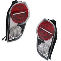 Fits 13-15 Chevrolet Spark Left & Right Set Tail Lamp Assemblies