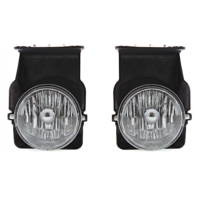 Fits -04 GMC Sierra Left & Right Fog Lamp Assemblies (pair)