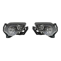 Fits 02-06 Chevy Avalanche Left & Right Fog Lamps Pair models w/ Body Cladding