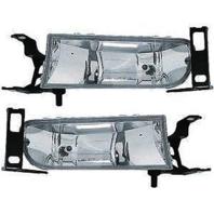 Fits 00-05 Cadillac DeVille Left & Right Fog Lamp Assemblies (pair)