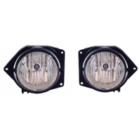Fits 06 Hummer H3 Left & Right Fog Lamp Assemblies with bulb shield (pair)