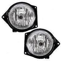 07-10 Hummer H3; 09-10 H3T; 06 H3 w/2nd design L & R Fog Lamp Assemblies (pair)