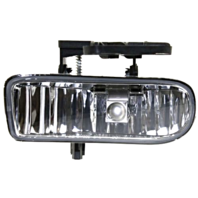 Fits 99-01 GMC Sierra 1500; 99-02 2500; 01-02 3500 Left Driver Fog Lamp