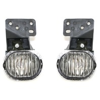 Fits 97-03 Chevy Malibu Left & Right Fog Lamp Assemblies (pair)